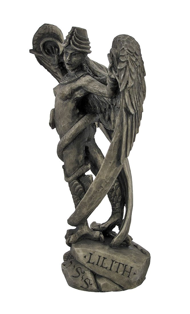 8905-lilith_snake_wings_stone_statue-RE2I