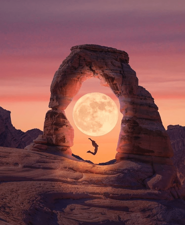 Full Moon Delicate Arch